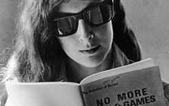 Ellen Willis c. 1970  Image from Out of the Vinyl Deeps, courtesy of Nona Willis Aronowitz.