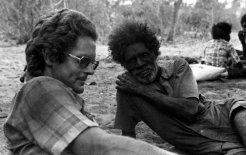 "Peter Sutton at a Wik outstation in 1977: ""That period seems a little innocent now"". Photo courtesy of David Martin"