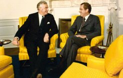 Gough Whitlam and Richard Nixon in the Oval Office, 30 July 1973. © Richard Nixon Library and Museum