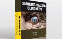 Plain tobacco packaging, Australian Government, 2012. Image supplied.