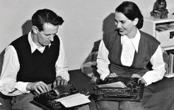 George Johnston and Charmian Clift in 1948. © Fairfax Syndication