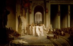 The Death of Caesar (1867), Jean-Léon Gérôme. Image courtesy of the Walters Arts Museum.