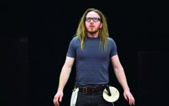 Tim Minchin in rehearsals at the Sydney Theatre company. © Lisa Tomasetti