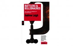 Cover image: Battlers and Billionaires (Black Inc.)