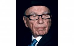 Rupert Murdoch after facing the Leveson inquiry, 26 April 2012. © Peter Macdiarmid/Getty Images