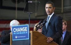 Barack Obama speaks at American University. © Flickr/Will White