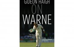 'On Warne', Gideon Haigh, Hamish Hamilton; $35.00
