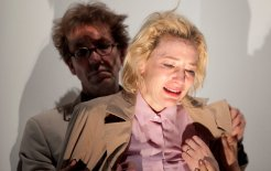 Cate Blanchett and Robert Menzies in STC's 'Big and Small'. © Lisa Tomasetti