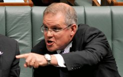Scott Morrison standing up for God's Country, May 2011. © AAP IMAGE / Alan Porritt