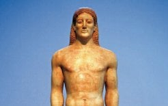Statue of a kouros in the National Archaeological Museum, Athens. © Jean-Pierre Lescourret/Corbis