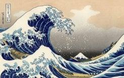 The work of catfish. Katsushika Hokusai, 'Under the Wave off Kanagawa', c
