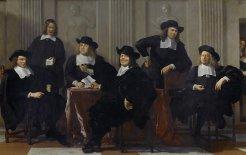 Regents of The Abbott Government, After Karel Dujardin, by Ben Gerber. L to R: Scott Morrison, Christopher Pyne, Joe Hockey, Tony Abbott, Peter Dutton and George Brandis.