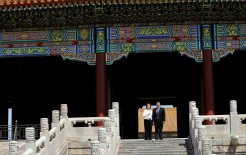 Julia Gillard visiting the Forbidden City, Beijing, April 2011. © David Foote/Commonwealth of Australia