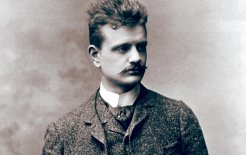 Jean Sibelius in Vienna, late 1880s. © Bettmann/Corbis