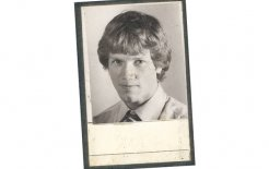Andrew Bolt as a young journalist working for the Age, c.1980.