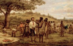 John Burtt, 'Batman's Treaty with the Aborigines at Merri Creek, 6th June 1835', c.1875. Image courtesy of the State Library of Victoria.
