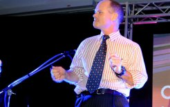 Campbell Newman, go-to (and go-go) guy, July 2011. © Chris McCormack / Newspix / News Ltd