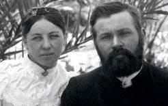 Frieda Keysser and Carl Strehlow, May 1986. Courtesy of John Strehlow
