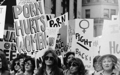 Five thousand New York women march against porn on 20 October 1979. © Bettmann/Corbis