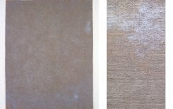 Brian Blanchflower, 'Canopy LI (Scelsi IV), oils, wax medium, pumice powder, acrylic on laminated hessian, January-May 2001, 221 x 172 cm.