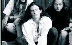You Am I's line-up, c.1990: Nik Tischler, Tim Rogers and Mark Tunaley ©TonyMott