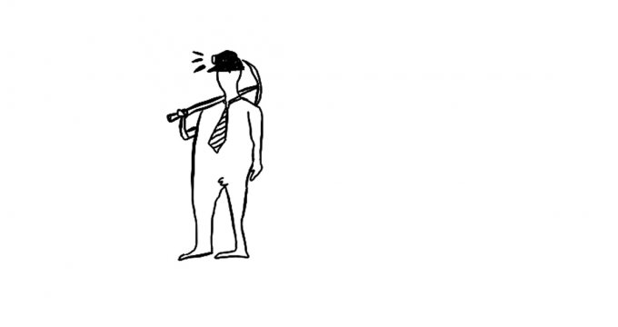 Malcolm Turnbull: A brief lament. Illustration